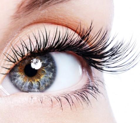 eye lash enhancement