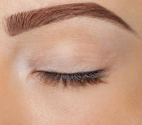 eye brow and lash enhancement