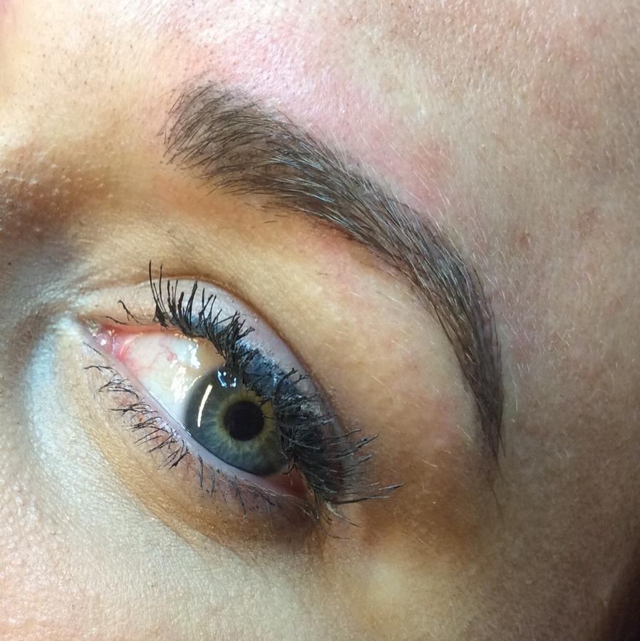 Microblade brow