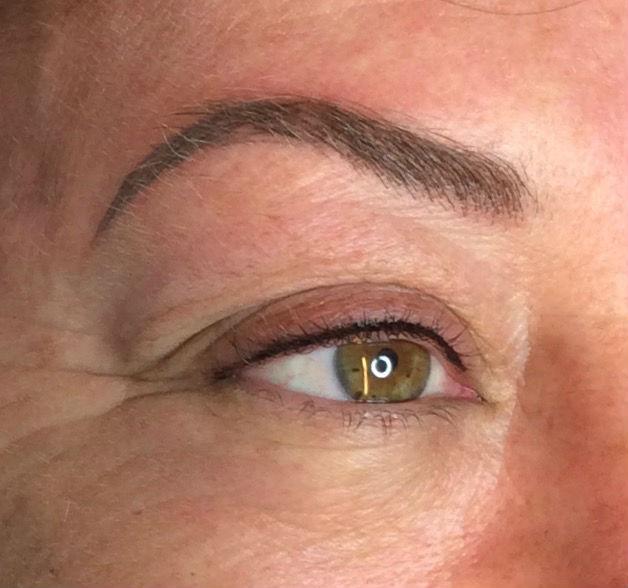 Eye liner procedure